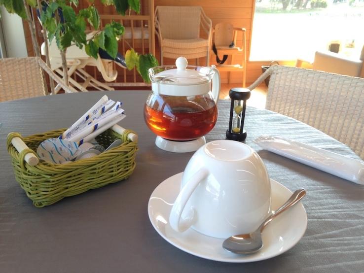 Inseguendo i sakura: il tè servitomi nella caffetteria del giardino botanico di Aoshima