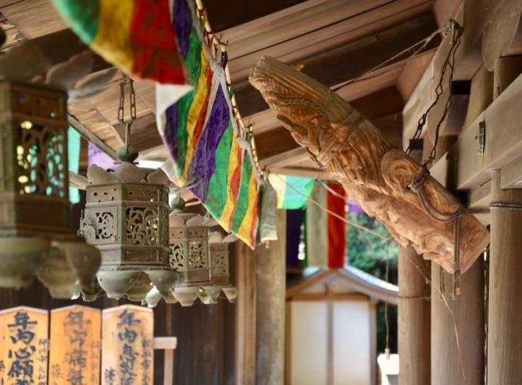 Inseguendo i sakura: Ishite Ji: la pagoda, altri dettagli e decorazioni